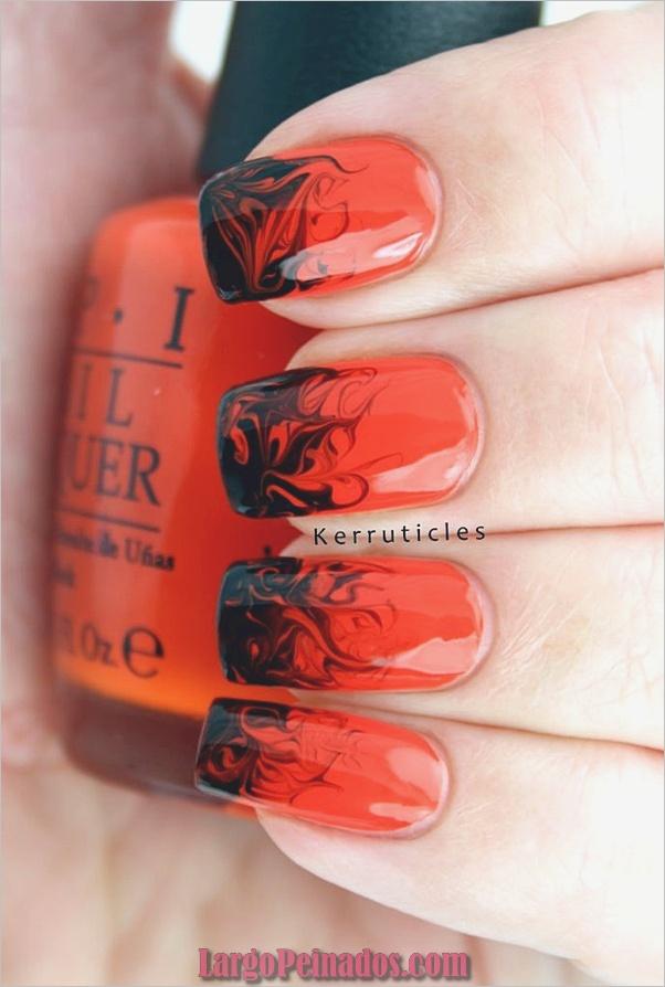 Ideas y diseños de arte de uñas de Halloween (11)