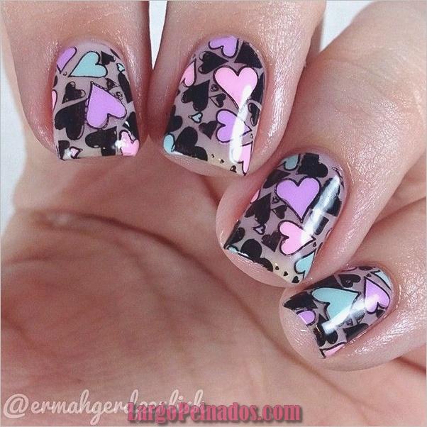Ideas rápidas de arte de uñas para mujeres de oficina (5)
