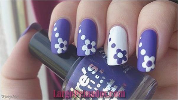Diseños de arte de uñas fáciles para principiantes4