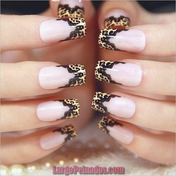 Estampados De Leopardo Del Arte De Uñas (11)