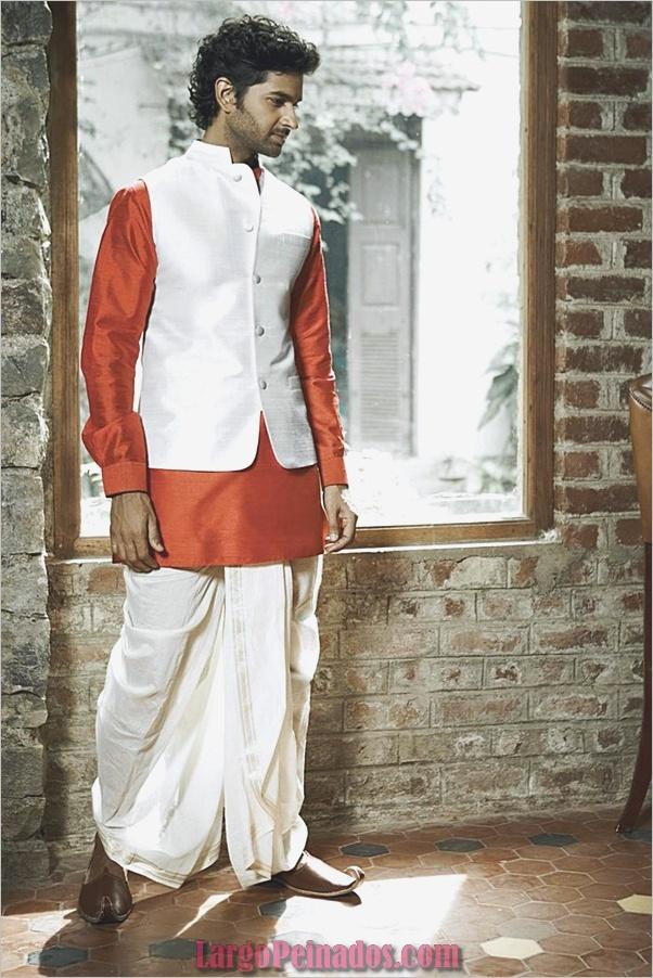 Vestidos y trajes indios elegantes16