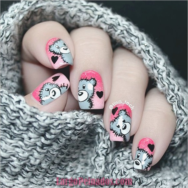 valentines-week-nails-designs-7