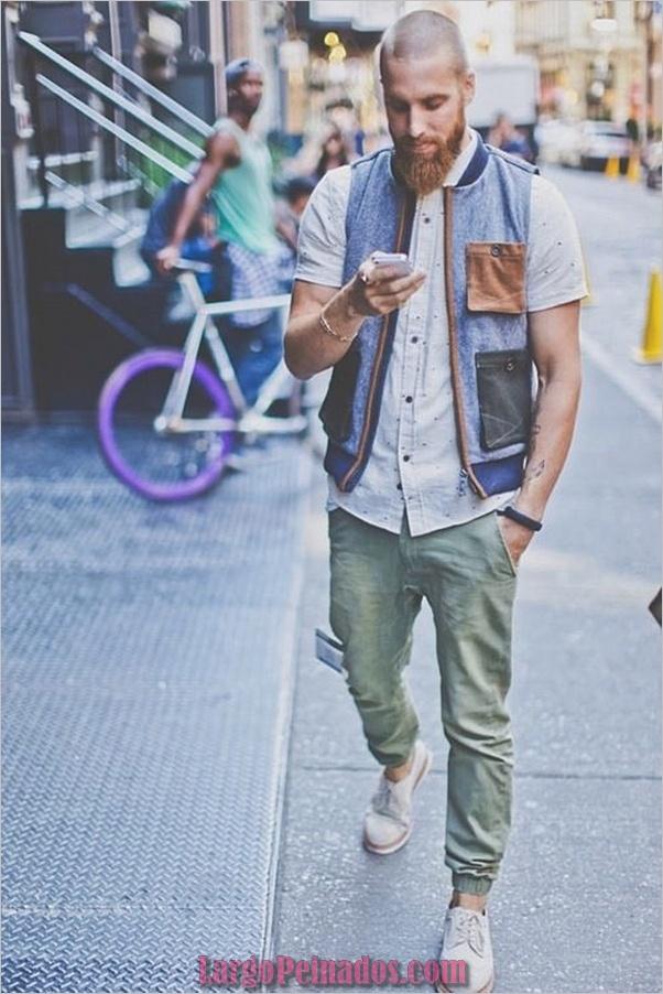 Trajes de estilo de moda para hombres39