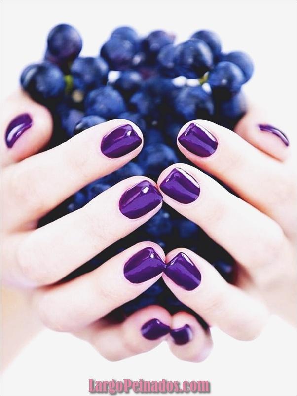 Diseños de arte de uñas púrpura (9)