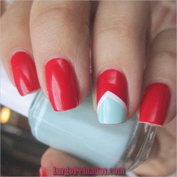 Diseños de arte de uñas rojas14