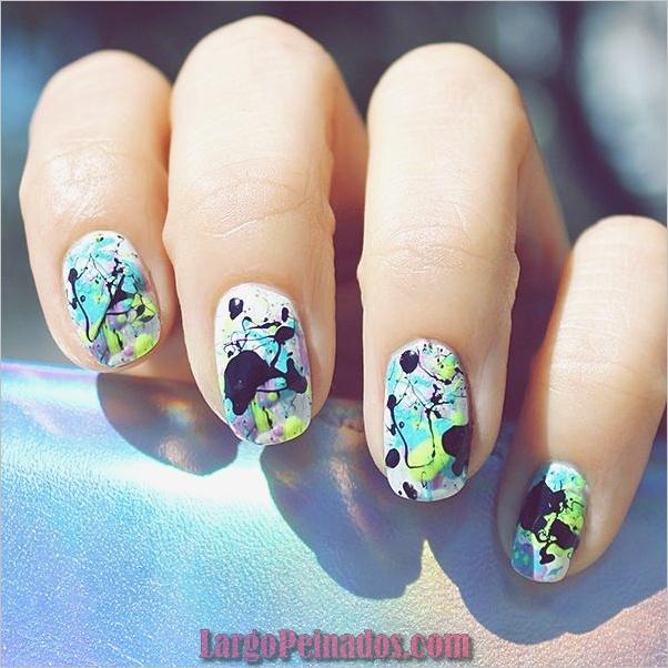 Ideas rápidas de arte de uñas para mujeres de oficina (12)