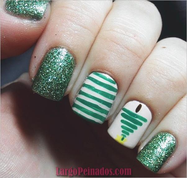 Diseños de arte de uñas de Navidad e Ideas5