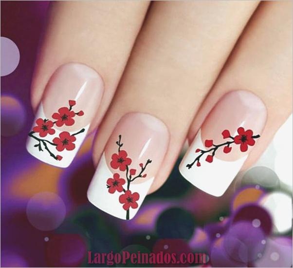 Diseños bonitos de uñas francesas (14)