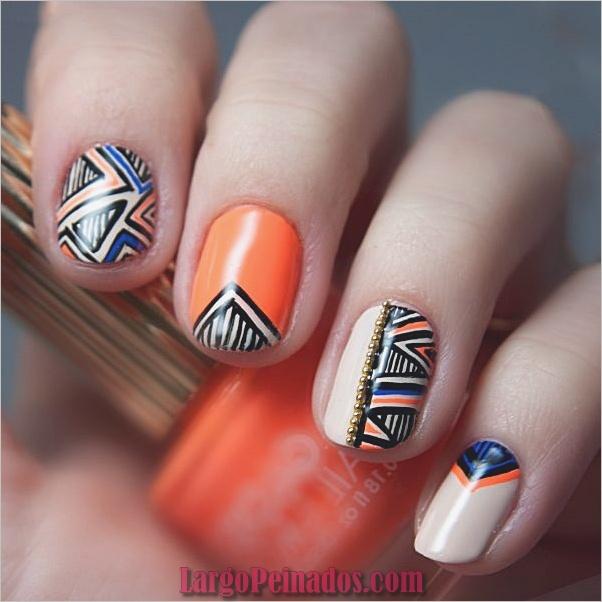 Ideas rápidas de arte de uñas para mujeres de oficina (6)