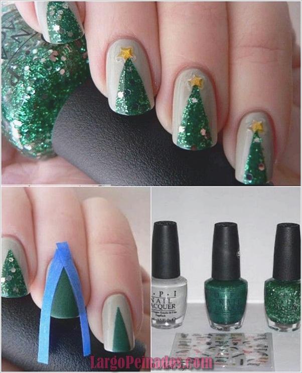 Diseños de arte de uñas de Navidad e Ideas4