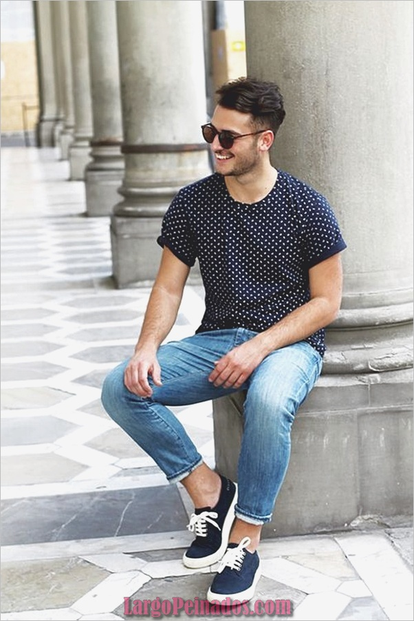Trajes de moda para hombre para emparejar con zapatillas (10)