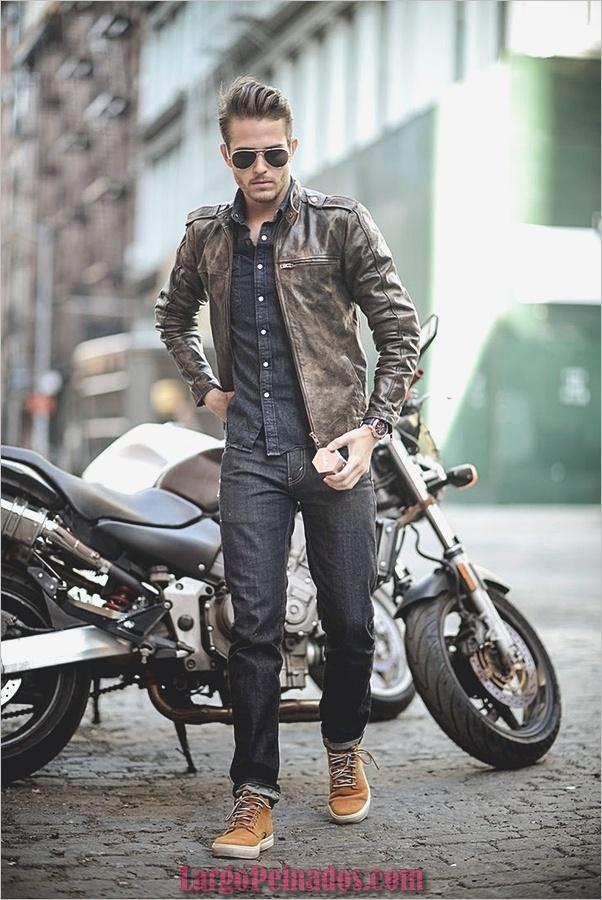 Trajes de estilo de moda para hombre10