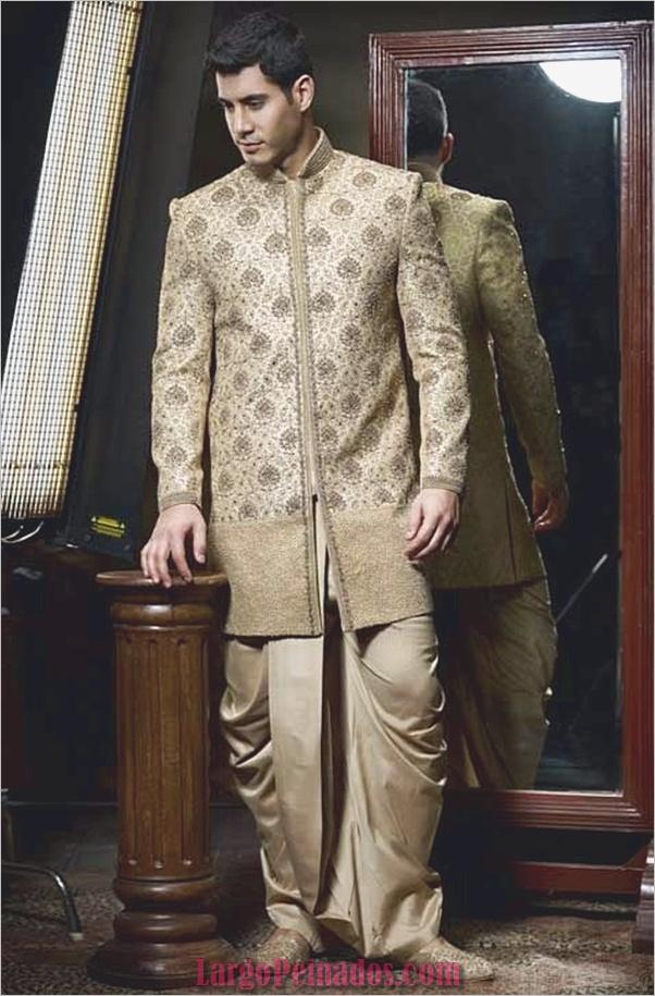 Vestidos y trajes indios elegantes20