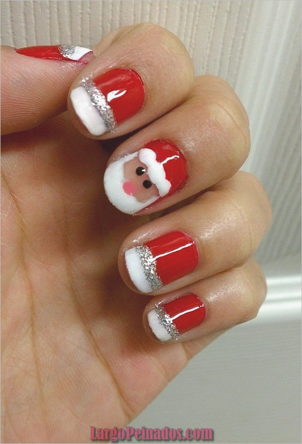 Nail Art Designs12 rojo