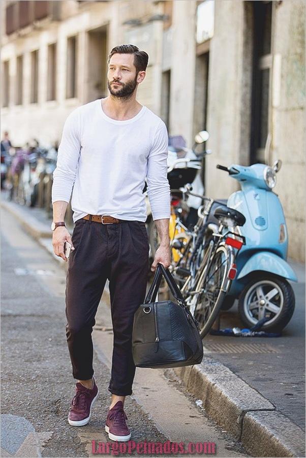 Moda Hombre Estilo Trajes23