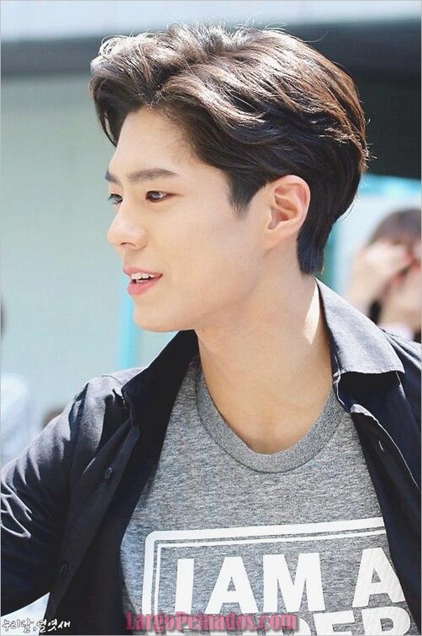 Los hombres coreanos peinados (3)