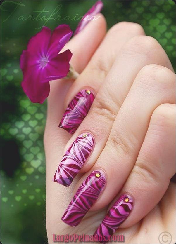 Ideas rápidas de arte de uñas para mujeres de oficina (13)